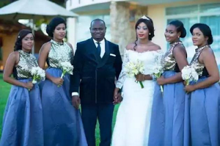 Photos: Kenyan millionaire weds two friends in two days