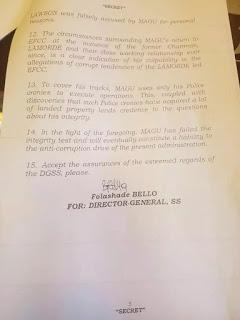 Tellforceblog: Senate rejects Magu's nomination as DSS disqualifies him again