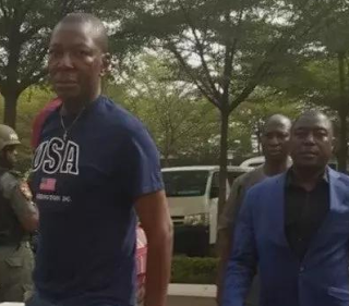 Police re-arrests Peace Corps commandant, Dickson Akoh in court today again.