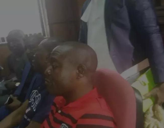 There was a slight drama at the Federal High Court on Monday, March 20, after the charge of Dr Dickson Akoh, the commander of the newly established Peace Corps of Nigeria.  Akoh was transported to the court for arraignment before the Federal High Court Justice Gabriel Kolawole earlier today, March 20, 2017.