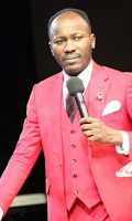 Tellforceblog Apostle Suleman indirectly accuses the Politicians on Sex Scandal through twitter