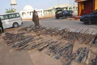 Cattle rustlers and bandits submits over 1000 weapons