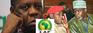 Tellforceblog: Pinnick ordered to support Hayatou during CAF polls