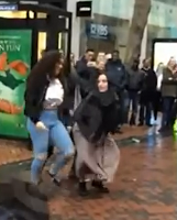 TFB: Muslim girl twerking in public while wearing her hijab, caused media outrage.