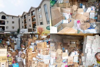 Tellforceblog: SON nabs dealer of expired cosmetics after post-dating them, owns two four-storey buildings filled with expired products