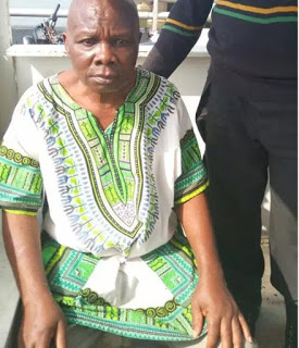 Police rescues an elderly man who was about to jump into Lagos Lagoon
