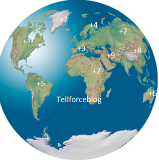 Tellforceblog: Lists: International Country Dialling codes and the Country.