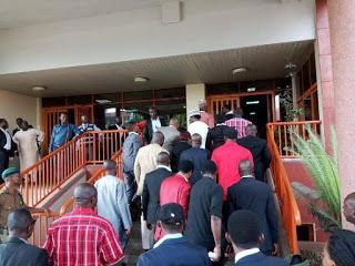 Photos: Dino Melaye launches N5bn lawsuit against Sahara Reporters