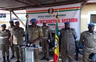 Tellforceblog: BREAKING: Police detain Peace Corps boss, Dickson Akoh