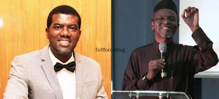 Tellforceblog: El-Rufai is a threat to Nigeria's National Security - Reno Omokri