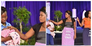 Testimony: Woman claims pastor's anointing oil changed her baby's gender from boy to girl Tellforceblog