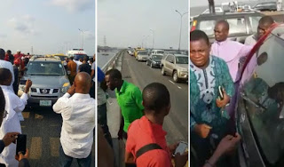 Tellforceblog: Video&Photos: Medical Doctor  jumps into the lagoon from 3rd Mainland bridge after church service