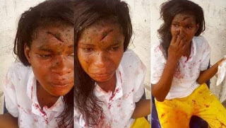 Tellforceblog: Photos: Female corps member reportedly dehumanized by male teacher in Delta State