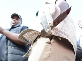 Photos: Kenyan man chops off his penis and throws it to dog, says it makes him sin