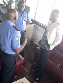 PHOTO; Sex Scandal: Apostle Suleman holds meeting with Nigerian Police