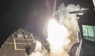 UPDATE (Video): US strikes Syria Airbase with 59 Tomahawk cruise missiles