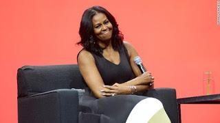 Michelle Obama dumps Politics