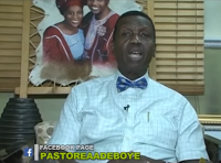 Video: Pastor E.A Adeboye says he does not have Facebook Account
