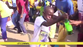 Video/Photos: Congo church where beer is used to cast out evil spirits