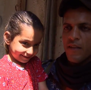 Video: Meet a 4-year-old who is used to gunshots and war