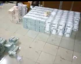 Video&Photo: EFCC discovers $38m, N23m and �27k hidden in an Ikoyi home