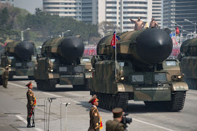 North Korea trys to launch a new missile but fails