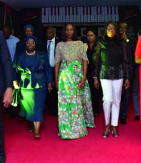 Dolapo Osinbajo rocks N1,800 outfit to an event