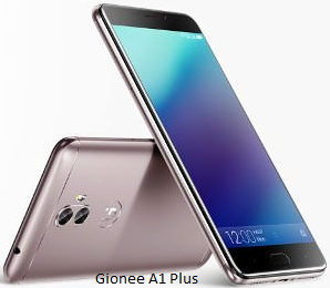 Gionee A1 Plus Specification and Price