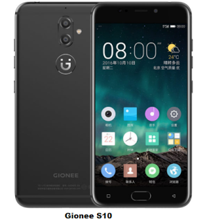 Gionee S10 specification and Price. Dual front and dual rear camera