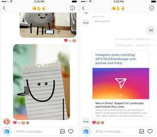 Instagram latest version supports landscape and portrait images