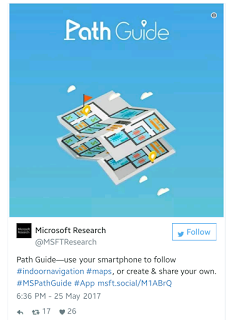Path Guide App by Microsoft keeps you from getting lost in a building
