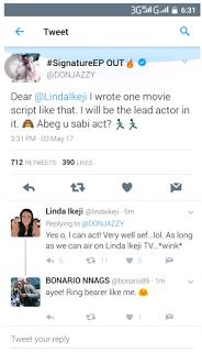 Linda Ikeji Responded to Donjazzy's Proposal