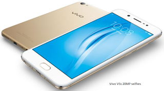 Vivo V5s Specifications and Price with Laudable 20 megapixel selfies