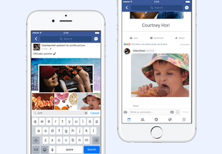 Facebook now allows you add GIFs in comments.