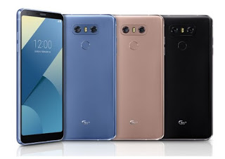 LG announces G6+ with 128 GB storage with new colors and features for the G6