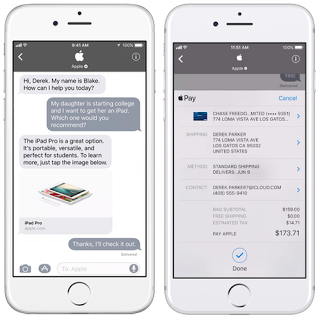 Business Chat for iMessage now available on the developer preview for iOS 11