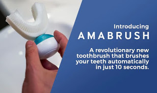 Amabrush - World's First Automatic Toothbrush. Brush your teeth in 10 Second