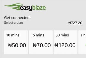 Download BlazeOn App For Etisalat Timely Base Unlimited Data Plan