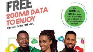 Subscribers happy again as Glo introduce Free Data Day, Welcome Back Offer