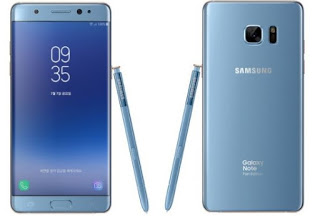Samsung Galaxy Note 7 back but in Fan Edition: Specifications.