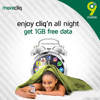 How To Get Free 1GB Data For Night Browsing On 9mobile Network