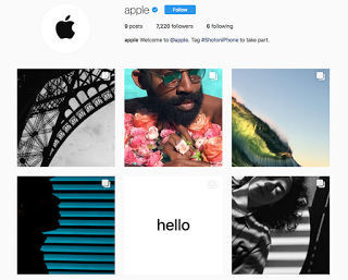 Check-out Apple's newly launched Instagram account