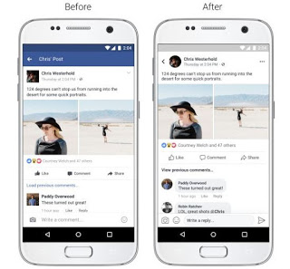 Facebook's News Feed on mobile gets new look