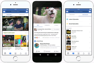 Facebook Watch:  YouTube now has a video streaming rival