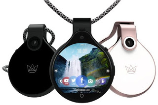 Checkout FrontRow: A Pendant With Camera and Touchscreen