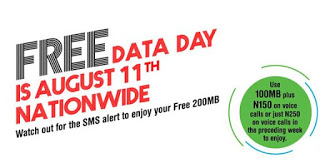 Glo declared Friday August 11, as FREE DATA DAY for Browsing