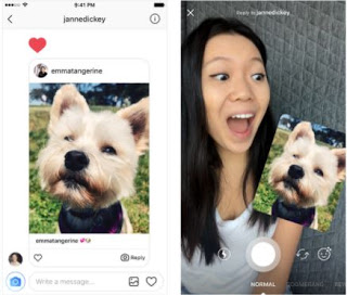 Instagram latest update allows you reply messages using videos and photos
