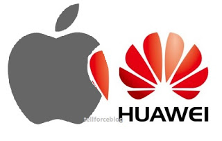 Huawei dropped Apple to third and becomes world's second-largest smartphone maker