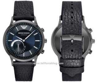 Check out the Emporio Armani EA Connected Watch from Fossil, costs $395
