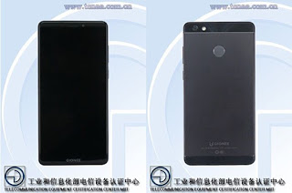 Gionee GN5007: A 6-inch smartphone with 5,000mAh battery spotted on TENAA